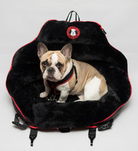 Black Plush w/ Black Back Original PupSaver (For Dogs Up To 30 lbs)