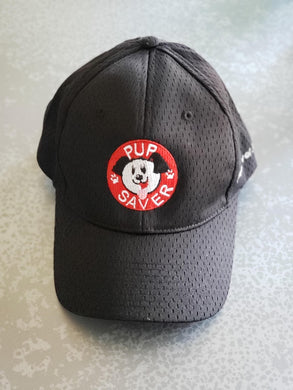 Red or Black PupSaver Logo Hat