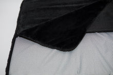 Original PupSaver Washable Seat Cover in Black Plush Fabric