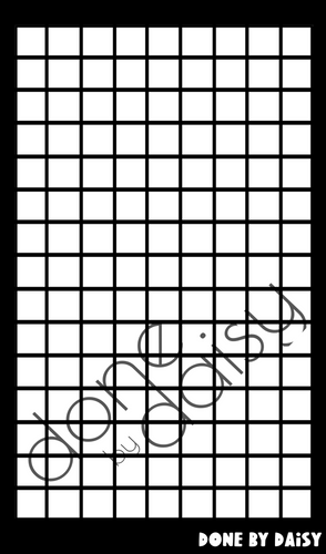 Grids - Mini Silkscreen Trio