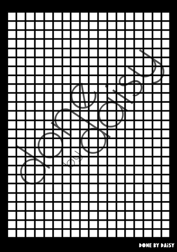 Large Grid - Large Silkscreen