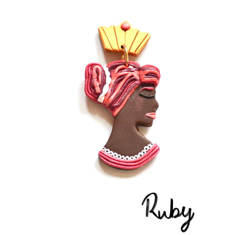 QUEENS Dangles - Ruby