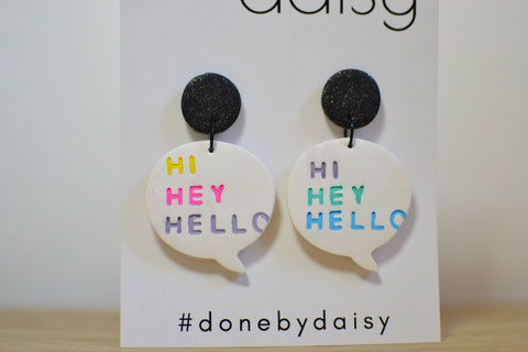 'Hi Hey Hello' dangles