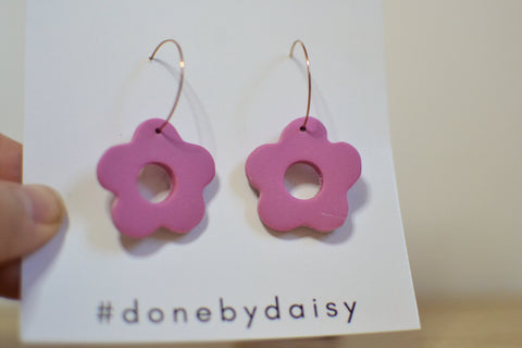 Flora Dangles - 6 COLOURS AVAILABLE