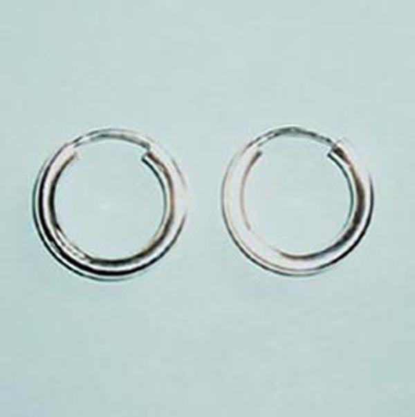 "5/8"" Sterling Silver Endless Hoop"