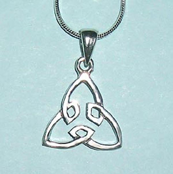 Celtic Trinity Knot Sterling Silver Pendant