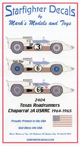 Chaparral 2A 'Texas Roadrunners'