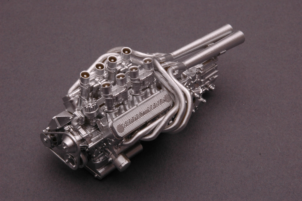 Mikes Used Cars >> GT40 Engine & Transaxle 1/24th Scale – Model Builders' Warehouse