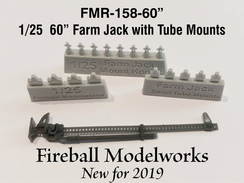"Farm Jack  60"" Tube Mount 1/25th Scale"
