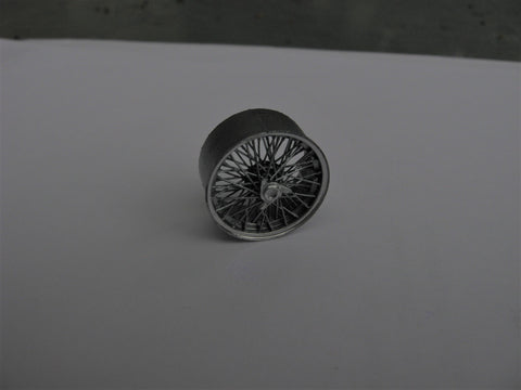 0-03 Borrani Wire Wheels 1/24th-1/25th Scale 3D Printed