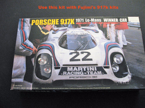Porsche 917K Engine and Detail kit 1/24th scale