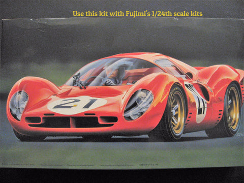 Ferrari 330 P4 Engine and Detail kit  1/24th scale