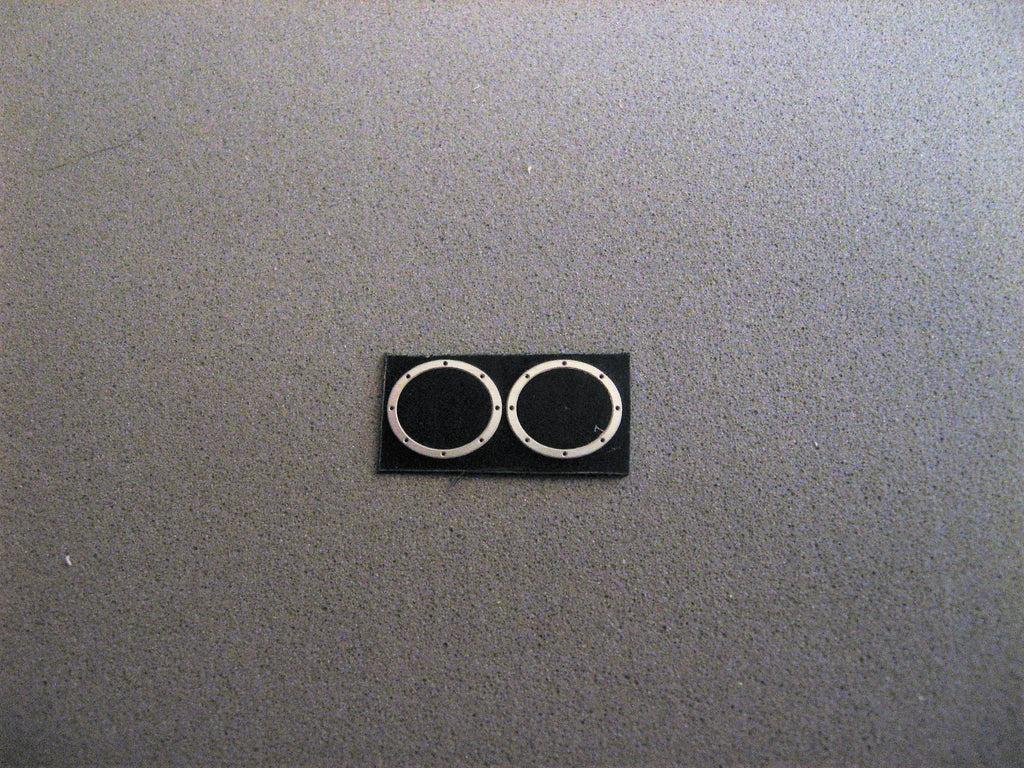 Oval Header Bezels 1/24-1/25th Scale – Model Builders' Warehouse