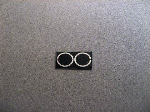 Oval Header Bezels  1/24-1/25th Scale
