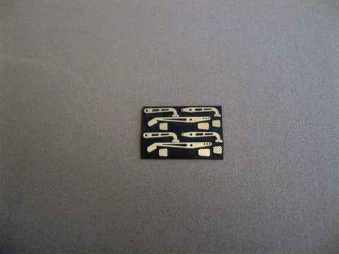 Clutch, Brake, Accelerator Pedal Kit (2) 1/24-1/25th Scale