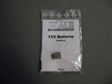 Battery  12volt     1/24-1/25th Scale