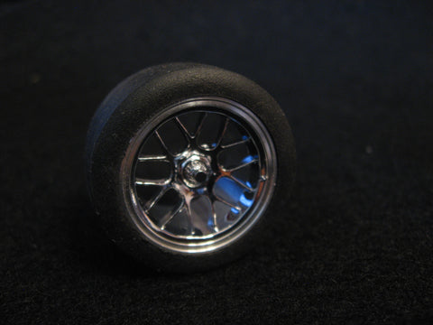 "18"" BBS GT3R/RSR Wheel & Tire Set 1/24-1/25th Scale"