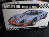 Ford GT40 1968 Le Mans 1/24th Scale