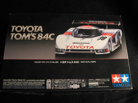 Toyota Tom's 84C 1/24th Scale