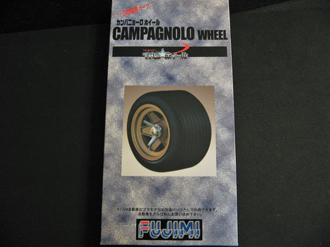 Campagnolo Wheel & Tire Set Fujimi 1/24th Scale