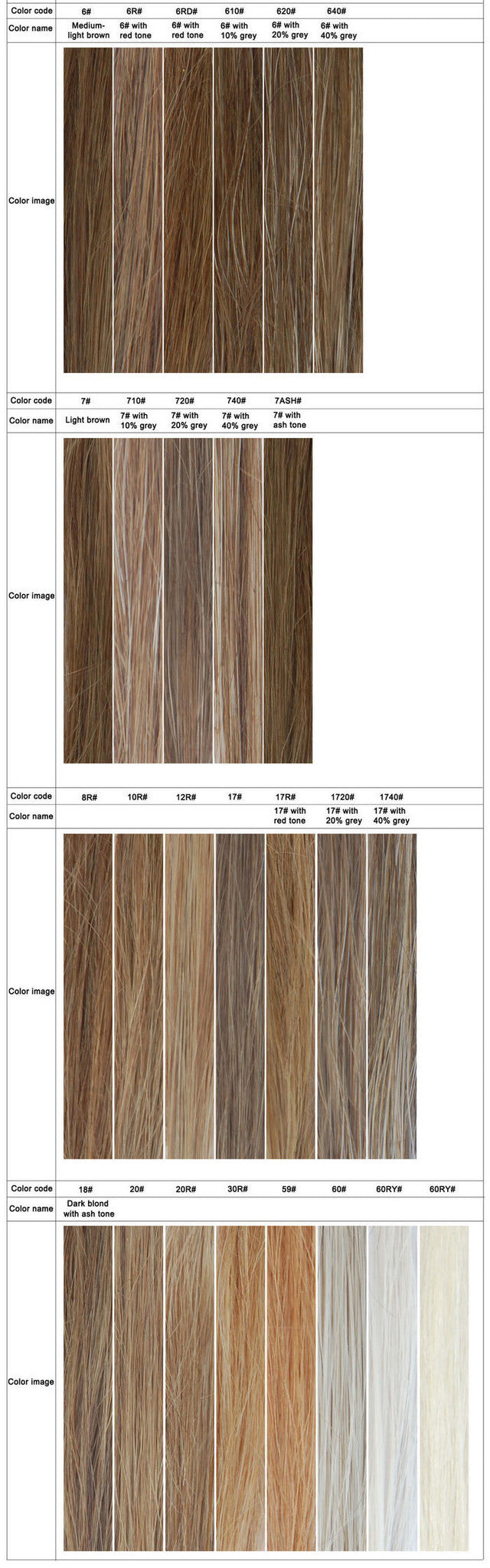 Hair replacement systems toupee for men color chart newhairline real hair replacement hair color chart just for reference geenschuldenfo Choice Image