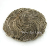 Silk Base Most Natural Looking Hair Replacement-Systems - NewHairLine
