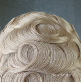 Bleach Knots Swiss Lace Hair Replacement System
