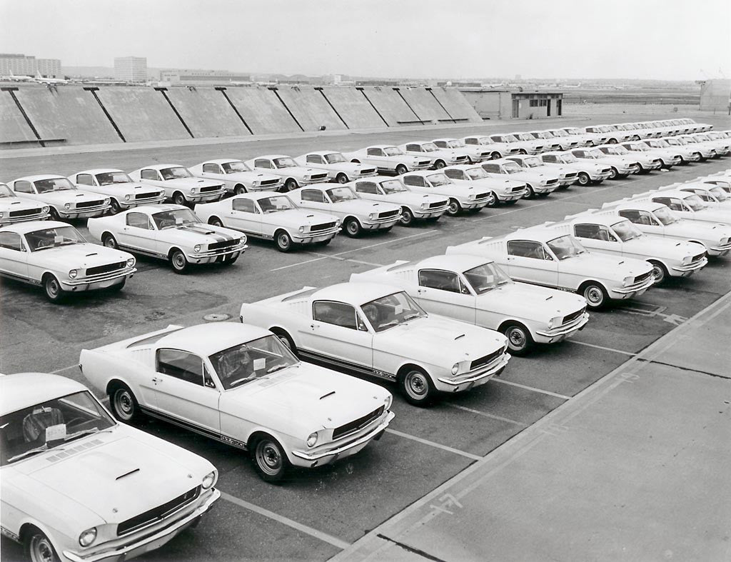 1965 GT350's production line