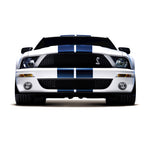 Ford Mustang Le mans twin racing stripes decal set - US Rallystripes