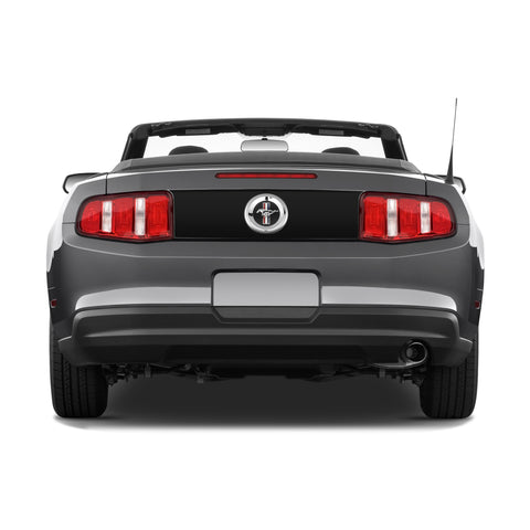 Ford Mustang 2010-2012 trunk blackout pre-cut decal - US Rallystripes