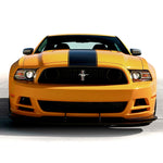 Ford Mustang 2013-2014 BOSS style hood center pre-cut racing stripes - US Rallystripes