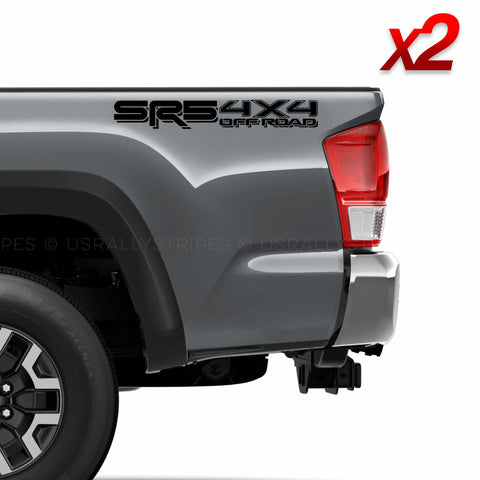 Set of 2: SR5 4x4 off-road vinyl decal for 2016-2020 Toyota Tacoma Tundra - US Rallystripes