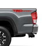 Set of 2: TRD Sport vinyl decal for 2016-2020 Toyota Tacoma Tundra - US Rallystripes