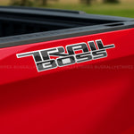Trail Boss K decal set fits 2019-2020 Chevrolet Silverado GM OEM specs - US Rallystripes