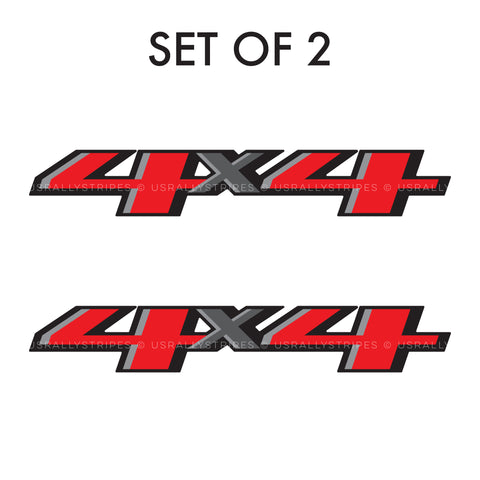 4x4 decal 2019 Chevrolet Colorado pickup truck bedside OEM specs