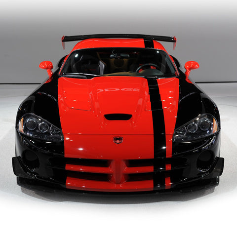 "Solid 5""-7"" Viper style standard racing stripes fit any car. - US Rallystripes"