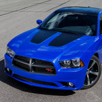 Hood insert vinyl blackout for Dodge Charger Daytona 2013 non SRT8 hood - US Rallystripes