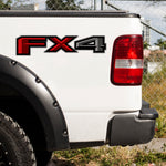 Set of 2:  FX4 vinyl decal for 2015-2020 Ford F-150 pickup truck bedside - US Rallystripes