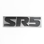 SR5 carbon edition emblem sticker for Toyota Tundra Tacoma pickup truck bedside - US Rallystripes