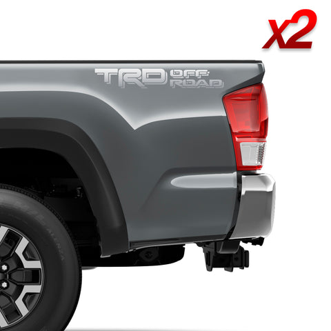 Set of 2: 2019 TRD OFF ROAD vinyl decals for Toyota Tacoma Tundra 4Runner - US Rallystripes
