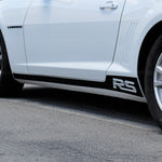 Rocker stripes w/ RS lettering pre-cut decal set fits Chevrolet Camaro 2010-2015 - US Rallystripes