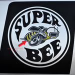Hockey stick decal set w/ reflective bee fits Dodge Charger 2006-2010 - US Rallystripes