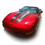 Chevrolet C5 Corvette 1997-2004 convertible racing stripes pre-cut decal set - US Rallystripes