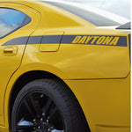 DAYTONA style quarter panel accent side decal fits Dodge Charger 2006-2010 - US Rallystripes
