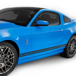 Ford Mustang 2013-2014 GT 500 style rocker panel side decals - US Rallystripes