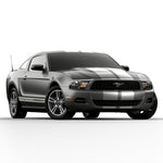 Ford Mustang 2010-2012 racing stripes pre-cut decal set - US Rallystripes