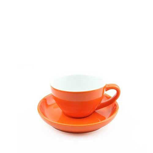 200ml Yami Porcelain Cup - Orange (YM2062)