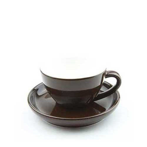250ml Yami Porcelain Cup - Brown (YM2064)