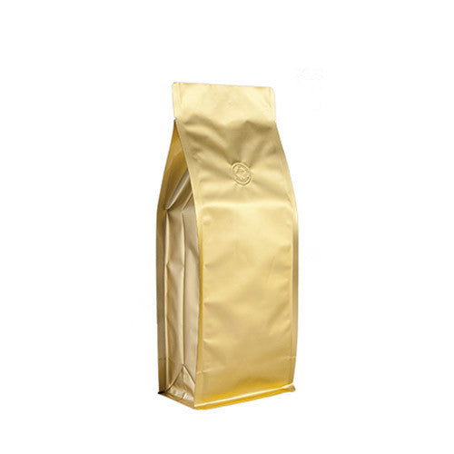Coffee Bag 500G Box Pouch (Gold)
