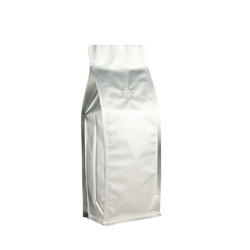 Coffee Bag 500G Box Pouch (Silver)